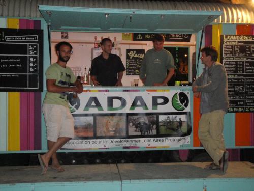 L'ADAP au Bar Terrasse Les Lavandières de l'association La Barje