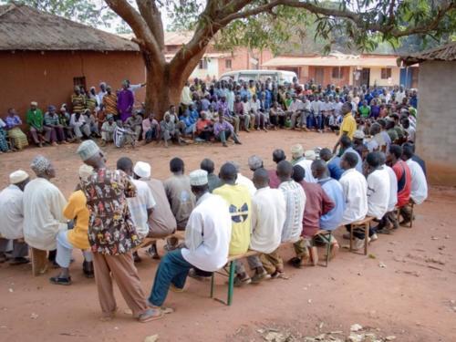 Participation citoyenne (Tanzanie ©Fabrice Frigerio)