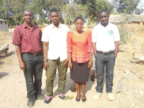 Equipe de projet : Issa Mpinga, Gabinus Tandika, Christina Komba and Romanus Mwakimata