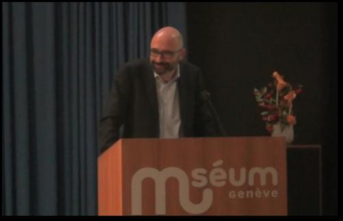 Conférence l'Abeille fait son Buzz au Museum d'histoire naturelle de Genève. 23 Novembre 2018.